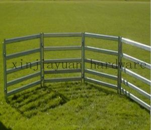 Galvanized Metal Gate with Five Pipe (middle type) pictures & photos
