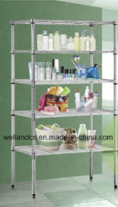 NSF Standard Chrome Metro Wire Shelving Rack (Loading Weight 800lbs/shelf) (CJ6035150A5C) pictures & photos