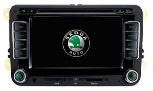 Skoda Car DVD Player with GPS Navigation System