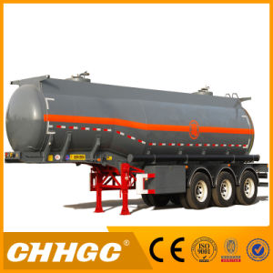 ISO CCC Approved 3 Axles Fuel Tank Trailer pictures & photos