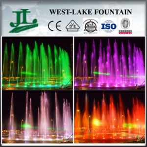 Economic Colorful Lights Water Fountain for Sale in Africa pictures & photos