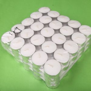 Wholesale 3.8*1.1cm 10g White Paraffin Tealight Candles pictures & photos