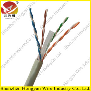 CE Approval 0.57mm Copper UTP CAT6 Cable