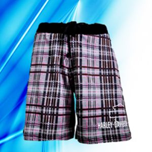 100% Cotton Lady′s Allover Print Lounge Shorts pictures & photos