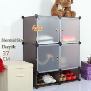 Brown Plastic DIY Storage Cbinet with Many Colors Available (FH-AL0518-4) pictures & photos