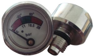 Diaphragm Pressure Gauge for Fire Extinguisher pictures & photos