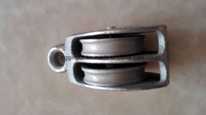 Casting Iron Double Lifting Pully pictures & photos