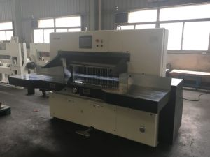 Full Automatic Paper Cutting Machine (115E) pictures & photos