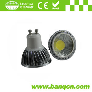 High Brightness 5W TUV GU10 COB LED Spotlight CE, RoHS, 2years Warranty (SUNLINE-GU10-COB5)