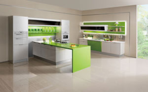 UV High Gloss Kitchen Cabinets Suppliers (ZX-018) pictures & photos