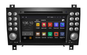 Carplay Android 7.1-2+16g Car DVD GPS Navigation for Mercedes Benz Slk Radio DVD with Phone Connectin Hualingan pictures & photos