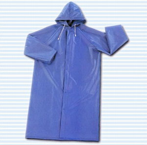 PVC/Polyester/PVC Longcoat for Safety Work pictures & photos