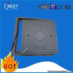 Square Composite Fiberglass FRP SMC BMC Manhole Covers with Frame pictures & photos