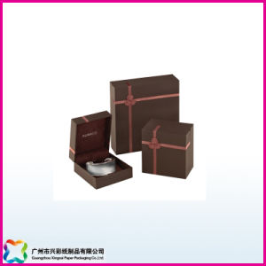 Rigid Wooden Cardboard Display Gift Box Matte Lamination and Foiling pictures & photos
