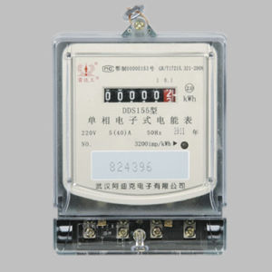 Single Phase Static Multi-Tariff Electronic Watt-Hour Meter pictures & photos