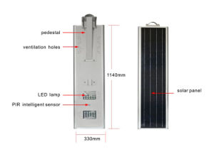 5 Years Warranty Ce RoHS Certified 40W LED Solar Street Light pictures & photos