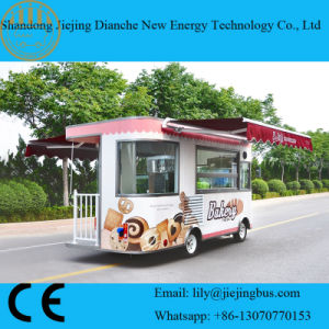 Ce Approved Battery Operated Insulated Catering Trucks for Sale pictures & photos