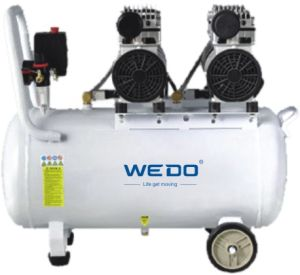 120L Tank Oilless (oil-free) Air Compressor 0.55kw/0.75kw pictures & photos