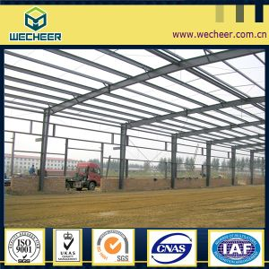Prefabricated Light Steel Structure Warehouse Building /Steel Frame Warehouse pictures & photos