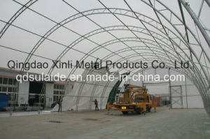 Large Outdoor Waterproof Fabric Frame Storage Warehouse (6010025PQ)