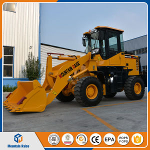 Manufacturer Mini Front End Articulated Wheel Loader with Low Price pictures & photos