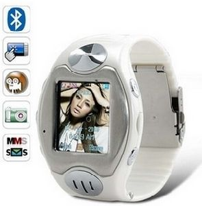 Waterproof Watch Mobile Phone W818 Watchphone Quad-Band Cell Phone Stainless Steel Camera MP4 FM pictures & photos