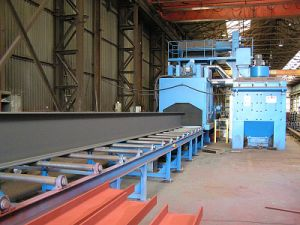 Steel Shot Blasting Machine pictures & photos