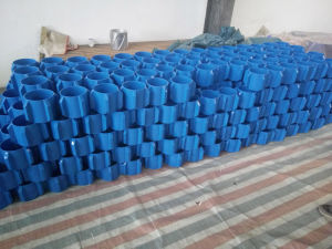 """API Standard 7"""" Steel Straight Vane Solid Body Centralizer pictures & photos"""