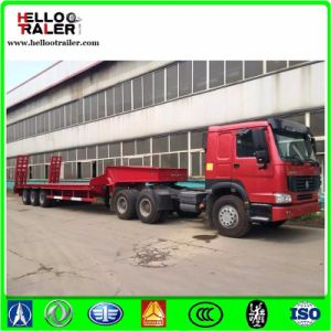 Heavy Duty 60 Tons Low Bed Trailer Dimensions pictures & photos
