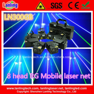 1400MW GB 8-Head Mobile Fat-Beam Laser Net (LN300GB) pictures & photos
