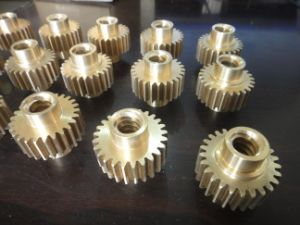 High Quality CNC Machining Brass Gear pictures & photos