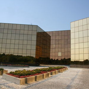 Bronze Tempered Curtain Wall Glass pictures & photos