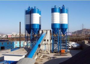 Hzs120 Concrete Batching Plant pictures & photos