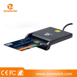 Zoweetek-Ccid USB Smart Card Reader/Writer for ID Card ATM (ZW-12026-1) pictures & photos