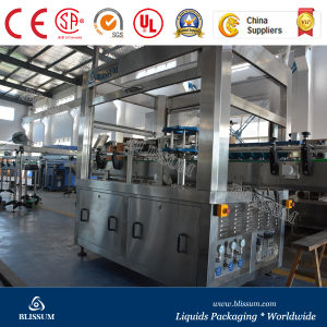 Automatic Plastic Bottle OPP/Hot Melt Glue Labeling Machinery (OPP-200) pictures & photos