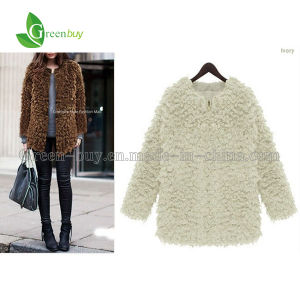 2015 Women Thick Warm Woolen Sweater Fleece Hooded Zipper Female Sweater