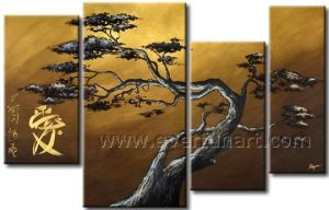 Oil on Canvasl Art Landscape Oil Painting Reproduction for Home Decor (LA4-058) pictures & photos