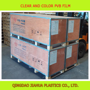 Thick 0.38mm Clear Polyvinyl Butyral PVB Sheets for Flat Laminated Safety Glass pictures & photos