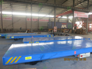 30T Large Gauge Rail Electric Flat Transfer Cart pictures & photos