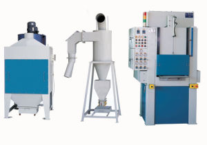 Auto Sandblast Machine for Printer Roller or Other Rolling Parts pictures & photos