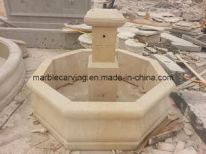 Cheap Old-Finished Color Marble Stone Carving Water Fountain (NS-246) pictures & photos