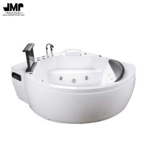 2264 Triangle Jacuzzi Bath Tub Acrylic Massage Bathtub pictures & photos
