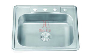 American Style Topmount Sink, Stainless Steel Sink (A70) pictures & photos