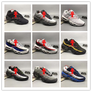 2017 Men Running Shoes Max95 Men Retro Cushion Navy Maxes 95 Og Sports High-Quality Chaussure 95s Walking Boots Sneakers Size 40-47 pictures & photos
