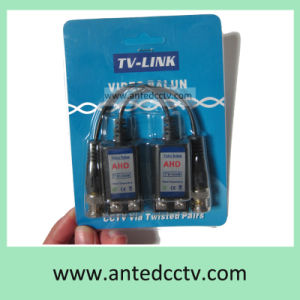 1 Channel Passive HD-Tvi Cvi UTP Video Balun Ahd Cvbs Cat5 Cable Twisted Pair pictures & photos