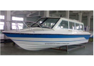 Aqualand 25FT 7.6m Water Taxi Cabin Boat/Fiberglass Ferry Boat (760) pictures & photos