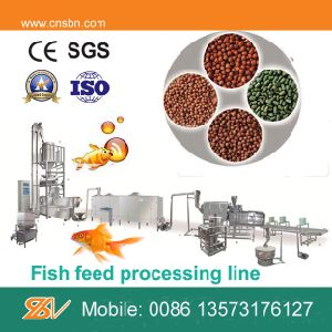 Best Quality Competitive Price Floating Fish Feed Production Line pictures & photos
