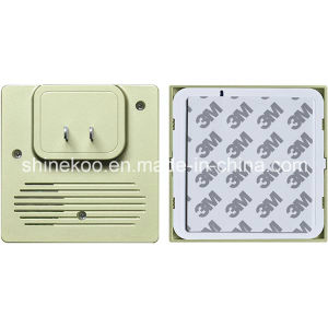 Self-Powered No Battery Wireless Doorbell with Plug (SN800SG-EE) pictures & photos