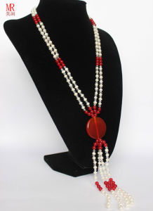 Long Pearl Necklace Jewelry pictures & photos