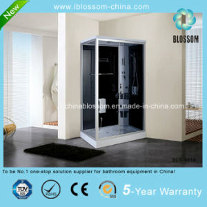Fashionable Rectangle Massage Shower Room Steam Shower Cabin (BLS-9854) pictures & photos